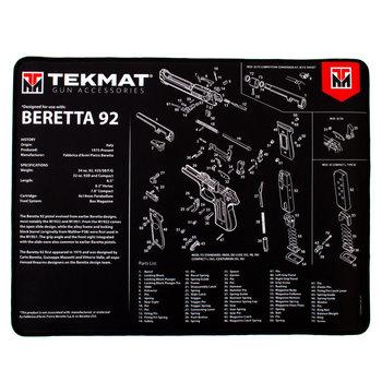 Beck Tek Beretta 92 Ultra Premium Gun Cleaning Mat