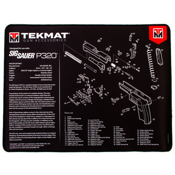 TekMat Ultra Premium Gun Cleaning Mat, Sig Sauer P320