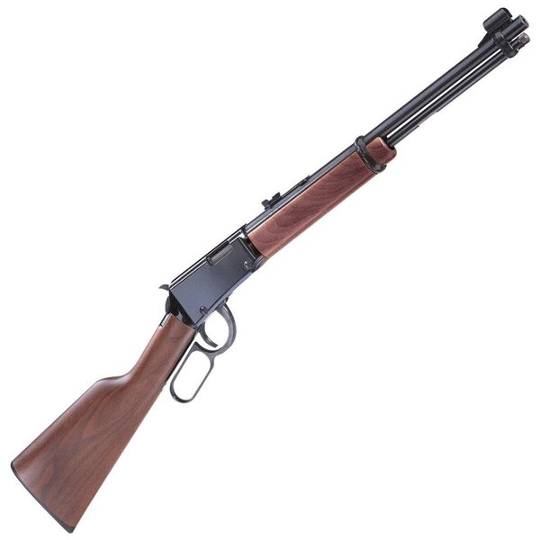 "Henry Henry Repeating Arms Model H001 Lever Action Rimfire Rifle .22 Long Rifle 18.25"" Barrel 15 Rounds Walnut Stock Blued Finish"