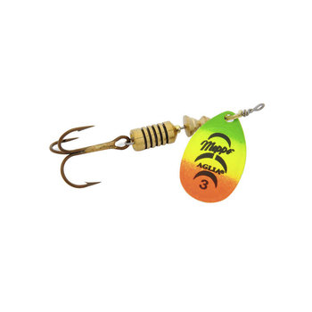 Mepps Aglia Single Treble Spinner. Size 1 to 5 FT 3