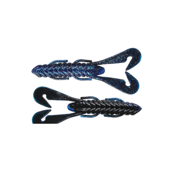 "Gambler 4"" Burner Craw. Shadow Blue 7-pk"