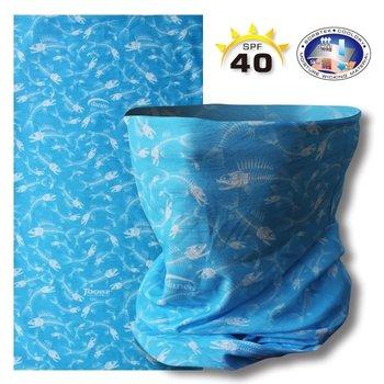 Danco Toobz UV Shield Fish Bone Ocean Blue