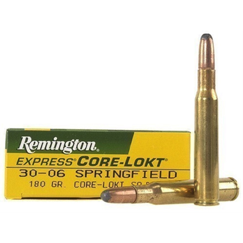 Remington Express Core-Lokt Ammo 30-06 Springfield 180gr Soft Point 20 Rounds
