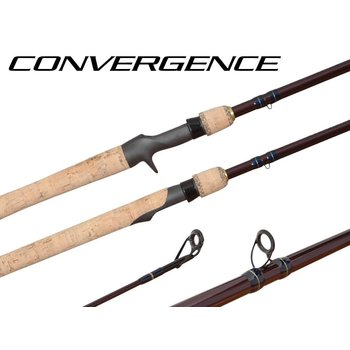 Shimano Convergence 6'6M Spinning Rod. 2-pc