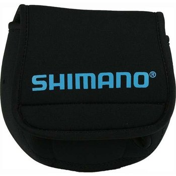Shimano Neoprene Spinning Reel Cover. Medium Black