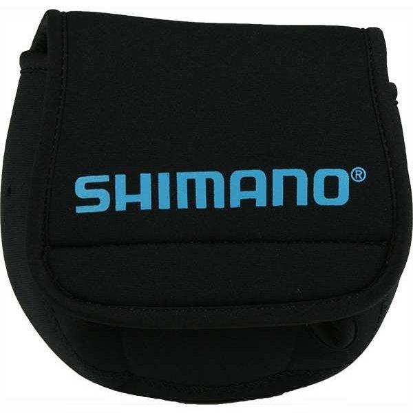 Shimano Neoprene Spinning Reel Cover. Medium Black