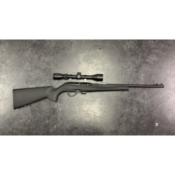Remington 597 22 LR Synthetic Rifle with Weaver 3-9 Scope