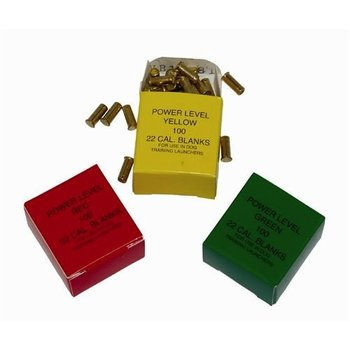 Hallmark Launcher Blank Ammo Green, Light Load, 150 Feet