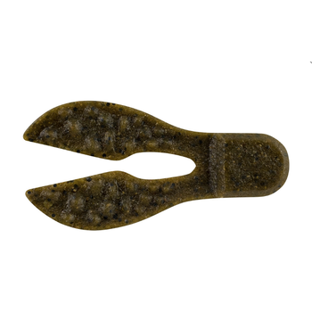 "PowerBait MaxScent 3"" Meaty Chunk. Green Pumpkin 6-pk"