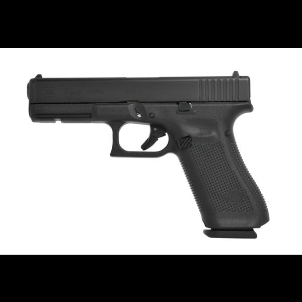Glock Model 17 Gen 5 9mm 114mm BBL HGA w/Ameriglo Night Sights Semi Auto Pistol