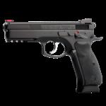 "CZ Model 75 SP-01 Shadow 9mm Pistol 4.7"" Barrel Black"
