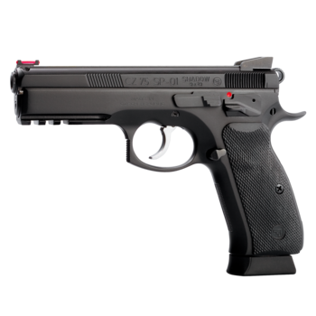 "CZ 75 SP-01 Shadow 9mm Pistol 4.7"" Barrel Black"