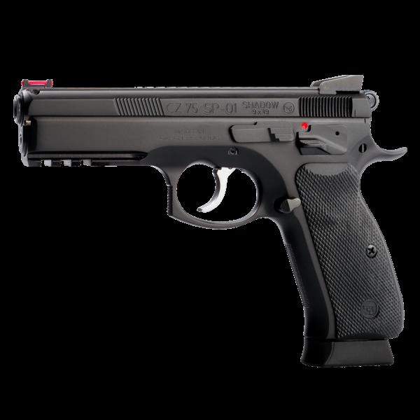 "CZ 75 SP-01 Shadow 9mm Pistol 4.7"" Barrel Black"