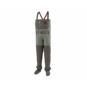 Simms Freestone Stockingfoot Wader, Dark Gunmetal, LK 9-11