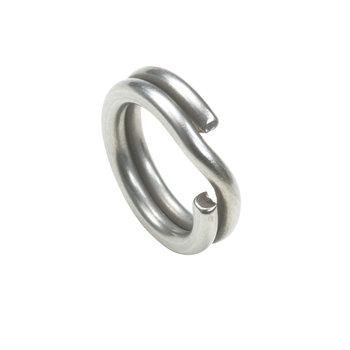 Owner Hyper Wire Split Ring #4 Stainless 10-pk