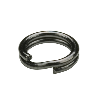 Owner Hyper Wire Split Ring #3 Black Chrome 14-pk