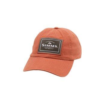 Simms Single Haul Cap. Simms Orange