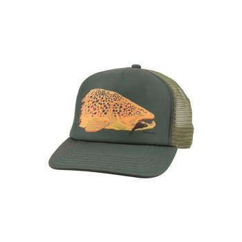 Simms Kype Jaw Trucker Cap, Foliage, O/S
