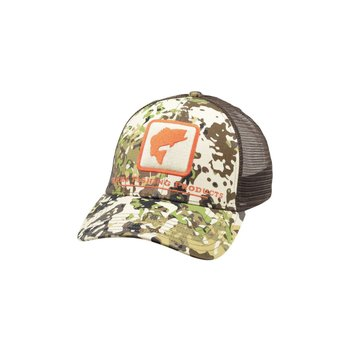 Simms Bass Icon Trucker River Camo