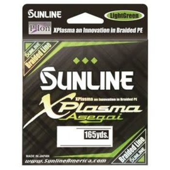Sunline XPlasma Asegai 12lb Braid 165yds Dark Green
