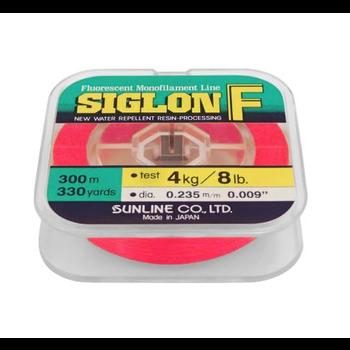 Sunline Siglon F P.5 Fluorescent Pink 8lb 330yds