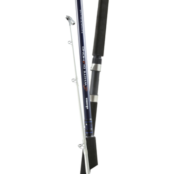 Okuma White Diamond Wire 8'6MH Trolling Rod. 2-pc