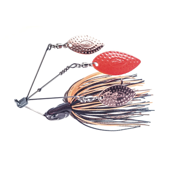 Molix Lover Triple Willow 1/2oz Spinnerbait Mud Vein