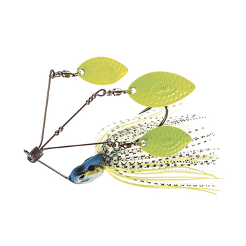 Lover Triple Willow 1/2oz Spinnerbait Neon Charmer