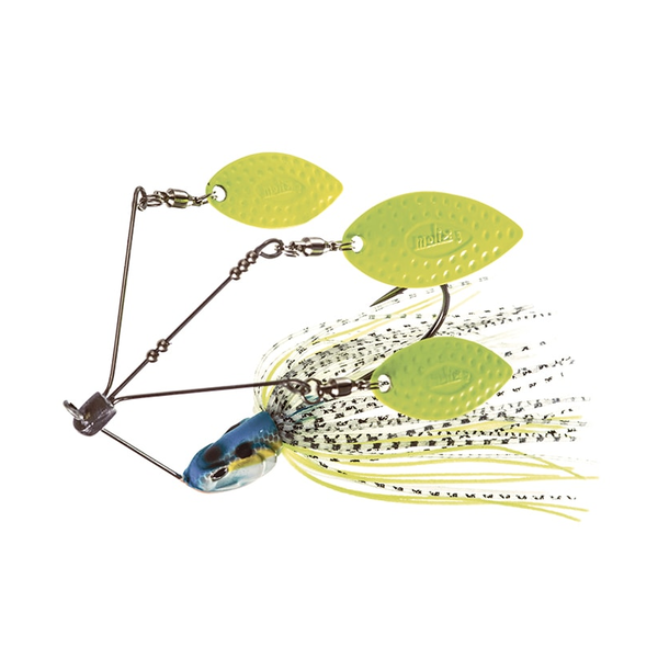 Molix Lover Triple Willow 1/2oz Spinnerbait Neon Charmer