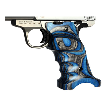 Volquartsen Laminated Grips for SW22, Blue