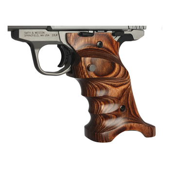 Volquartsen Laminated Grips for SW22, Brown