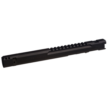 Volquartsen LLV Competition Pistol Upper, Black, 6 inches, Compensator, Target Sights