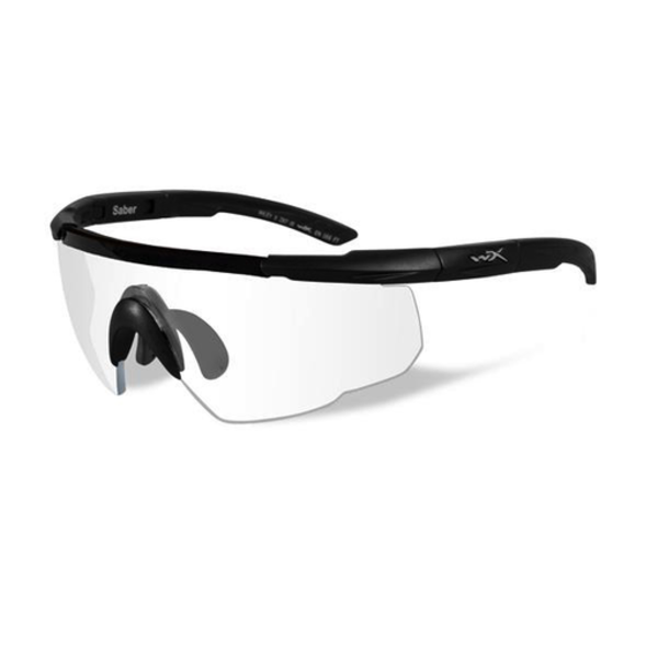 Wiley-X Saber Advanced Clear Lens/Matte Black Frame