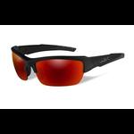 Wiley-X Valor Polarized Crimson Mirror Lens/Matte Black Frame
