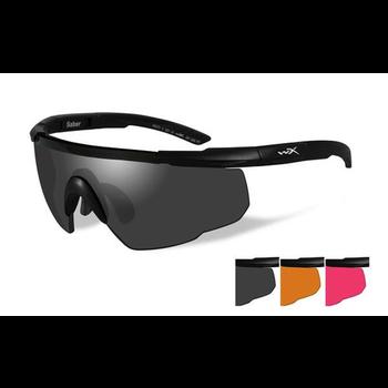 Wiley-X Saber Advanced Grey/Light Rust/Vermillion Lenses/Matte Black Frame