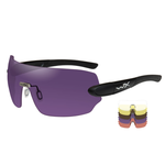 Wiley-X Detection Interchangeable Shooting Kit, Clear, Yellow, Copper, Orange, Purple
