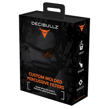 Decibullz Custom Molded Percussive Shooting Filters.