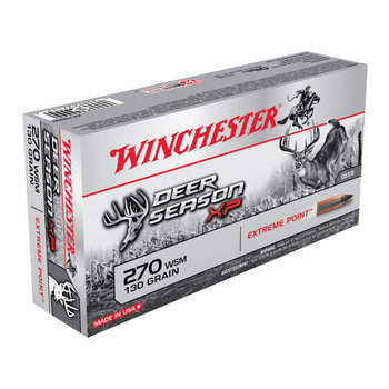 Winchester Deer Season XP Ammo 270 WSM 130gr Extreme Point Polymer Tip 20 Rounds