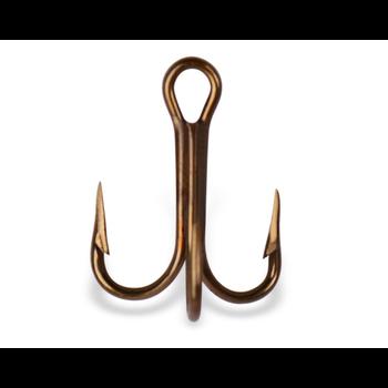 Mustad Treble Hook. Size 12 5-pk