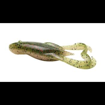 """Keitech Noisy Flapper Frog 3.5"""" Watermelon Red 5-pk"""