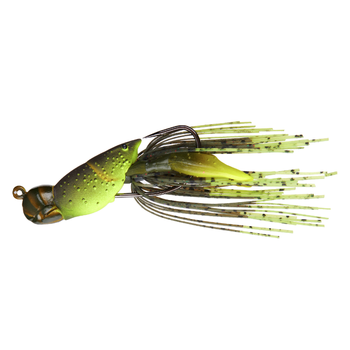 "Koppers Live Target Hollow Body Craw 3/8oz 1-1/2"" Green/Chartreuse"