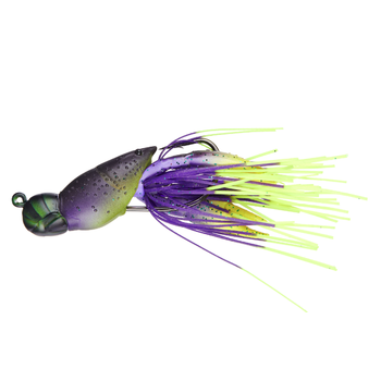 "Koppers Live Target Hollow Body Craw 1/2oz 1-3/4"" Junebug/Chartreuse"