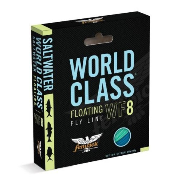 Fenwick Saltwater World Class Floating Fly Line. WF8 100'