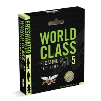 Fenwick World Class Floating WF5 Fly Line. 100'