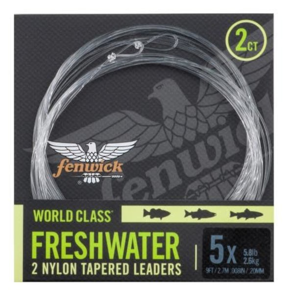 Fenwick World Class Tapered Leader 9