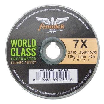 Fenwick World Class 3X 8.42lb Fluoro Tippet. 50yds