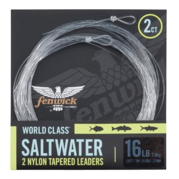 Fenwick World Class Saltwater 12lb Tapered Leader. 3m