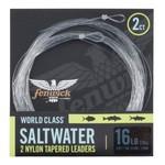 Fenwick World Class Saltwater 10lb Tapered Leader. 3m