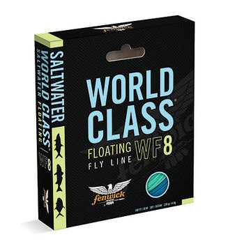 Fenwick Saltwater World Class Floating Fly Line. WF10 100'