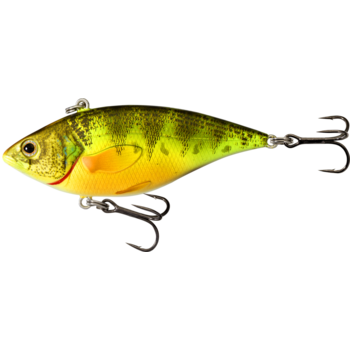 Koppers Live Target Perch RattleBait 5/8oz Fluoroscent/UV